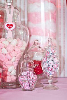 Valentine sweet table ideas.