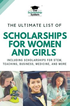 College can be expensive. That's why scholarships for women are so valuable. Here is the ultimate list of scholarships for women and girls. Grants For College, College Majors, Financial Aid For College, Online College, Scholarships For College, College Hacks, Education College, Business Education, Business School
