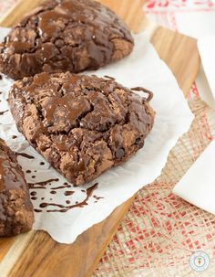 Triple Chocolate Scones - Vegan & Gluten-free| glutenfreeveganpantry.com