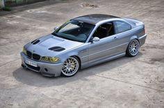 BMW E46 M3 grey