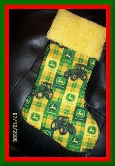 John Deere stockings!!