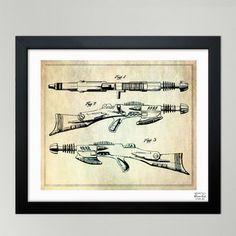 Oliver Gal 'Schaible, Pyrotomic Disintegrator Rifle, 1953' Framed Wall Art