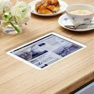 Image result for ipad integrated into restaurant table