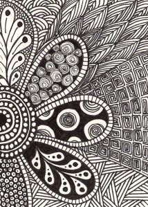 Zentangle | Flower