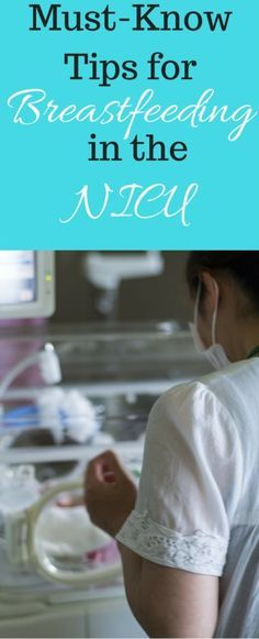 Breastfeeding in the NICU is possible - here are some must-know tips for doing…