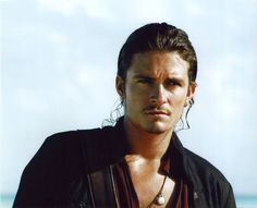 Orlando Bloom as Will Turner Will Turner, Captain Jack Sparrow, Orlando Bloom, Legolas, Beautiful Boys, Gorgeous Men, Disney Cute, Z Cam, Pirate Life