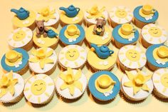 Biggest Morning Tea Themed Cupcake Set | par Sharon Wee Creations
