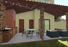 Planta de Casa - Versão do Projeto Cód. 123 com 3 quartos sendo 1 suite - Foto 3