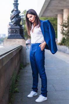 MenStyle1- Men's Style Blog - Women in Suits. FOLLOW : Guidomaggi Shoes...