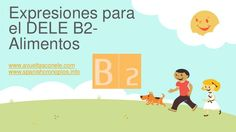 expresiones-para-el-dele-b2-alimentos by Cronopios Spanish Lessons via Slideshare Spanish Idioms, Spanish Class, Teaching Spanish, Film Music Books, Spanish Language, Family Guy, The Unit, Education, Learning