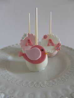 Cakepops para festa de aniversário de menina (organizada pela Lima Limão)