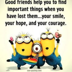 Here are some really awesome Hilarious Minions Jokes . Hope you will love them ALSO READ: Minions Videos ALSO READ: Best 30 Funniest Minions Quotes Funny Minion Pictures, Funny Minion Memes, Minions Quotes, Minion Sayings, Minion Humor, Broken Friendship Quotes, Friendship Images, Friend Friendship, Best Friend Quotes