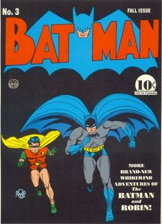 Batman #3 cover used as model for 1960's Batman TV show opening animation