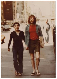 John & Yoko. The Beatles Photo Vault