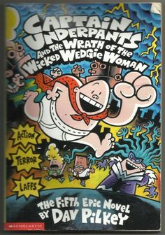 2001 Captain Underpants And The Wrath Of The Wicked Wedgie Woman Dav Pilkey Book | eBay