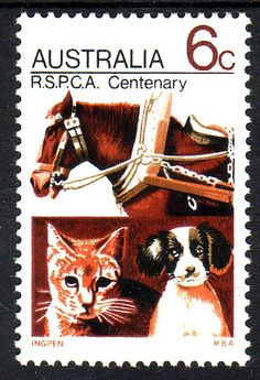 Postage stamp - Australia, 1971