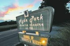 hyde park drive-in theater, hyde park, ny