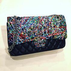 Chanel pintada, chanel grafitada, arte chanel