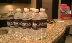 water label, construct promot, water bottl, bottl label, promot water