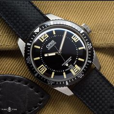 NOW LIVE ONLINE: One of the big surprises of #baselworld2015 was the @oriswatch Divers Sixty-Five. This is how you do a heritage watch. Story in the link ️