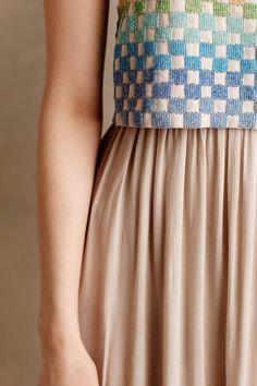Spring Basket Maxi Dress - anthropologie.com