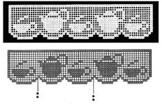 kitchen-tea/coffee filet crochet