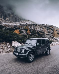 The G-Class on a mission.  Photo by Max Leitner (www.maxleitner.com) for #MBsocialcar