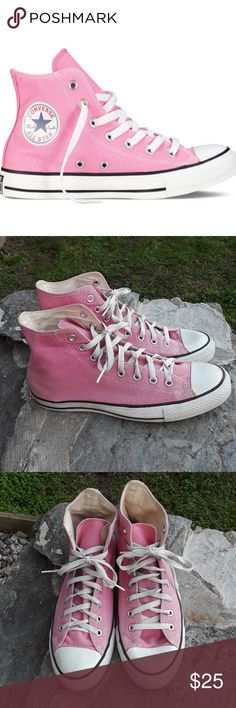 Converse high tops In great condition some light where but the Treads have a lot of miles left Converse Shoes Sneakers