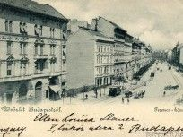 1899, Ferencz (Ferenc) körút, 9. kerület Budapest, Old Photos, Archive, Louvre, Building, Travel, Remember This, Old Pictures, Viajes