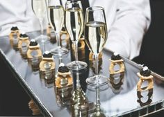 Five Star #Wedding Treats: The delicacy and distinct taste of caviar makes it the most luxurious appetizer to serve at your wedding day. (Preston Bailey Wedding)