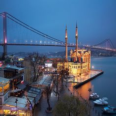 Ortaköy, Istanbul, Turkey – antalya turkey loved antalya and staying on lara…this is the most ideal istanbul itinerary for womenescape to turkeys otherworldly landscape Places Around The World, Around The Worlds, Landscape Photography, Travel Photography, Istanbul City, Istanbul Travel, Hotels, Cool Landscapes, Tower Bridge