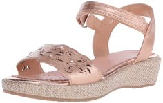 Geox J Sandal Palmas Girl 6 Sandal (Little Kid/Big Kid) -- Find out more details by clicking the image - Girls sandals