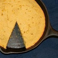 Grandmother's traditional sweet and moist cornbread is made healthier by using low-fat diary products, reducing the sugar, and adding whole corn.