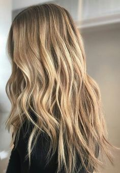Honey and blonde and blended.