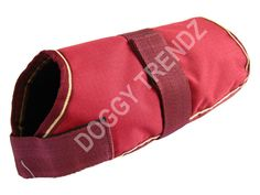 Waterproof Dog Coat Maroon Fur Lining Raincoat Size -- Click image for more details. (This is an affiliate link and I receive a commission for the sales)