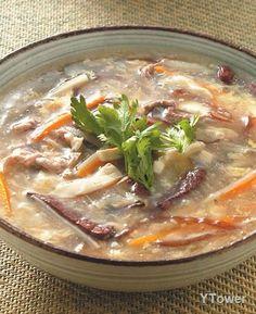 酸辣湯食譜 - 根莖類料理 - 楊桃美食網 專業食譜