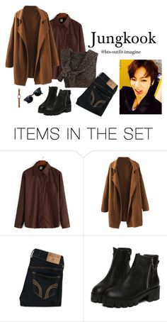 """Pick him up from airport (JK)"" by effie-james ❤ liked on Polyvore featuring art, simple, kpop, korean, bts and jungkook"
