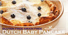 Gluten Free Grain Free Dutch Baby Pancake