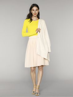 We're loving pops of bright yellow for next summer's collection | Banana Republic Summer '16