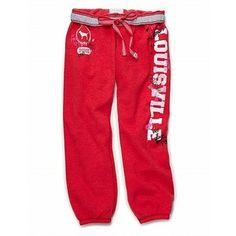 victoria secret louisville cardinals wear | Victoria's Secret - University of Louisville classic pant - Polyvore