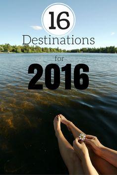 16 Destinations for 2016 - The Atlas Heart