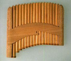 正倉院の楽器 甘竹簫(しょう)(復元模造)
