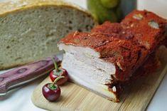Paprikovo – cesnakový bôčik na studeno Ham, Banana Bread, Sandwiches, Desserts, Food, Roll Up Sandwiches, Meal, Deserts, Essen