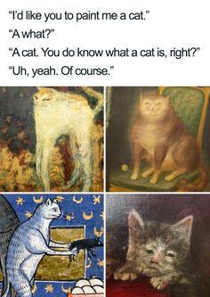 Memes Humor, Cat Memes, Funny Memes, Jokes, Cats Humor, Memes Historia, Medieval Memes, Cats Are Assholes, Memes Arte