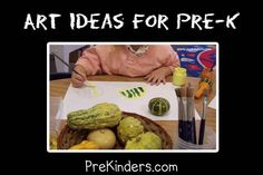 Pre-K Art Ideas: a great website with beaucoups of ideas. Just what this elementary art teacher needed!