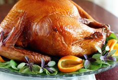 smoked turkey (with step-by-step instructions on how to do it with either a smoker or a grill)