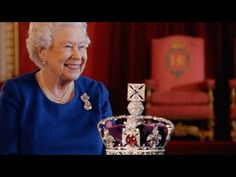 Queen Elizabeth II Reunited With the Crown - YouTube