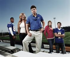 Friday Night Lights. Such a great series, from beginning to end. Loved it.