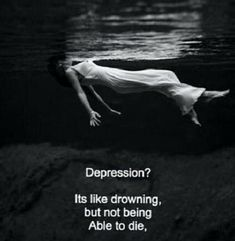 depression, sad, and drowning image Sad Quotes, Life Quotes, Sweet Quotes, Random Quotes, No More Drama, Depression Quotes, Depression Awareness, How I Feel, Texts