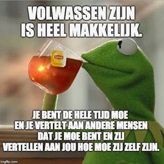 Funny Qoutes, Funny Memes, Jokes, Pretty Soon, Dutch Quotes, Relationship Facts, Fishing Humor, Decir No, Chistes